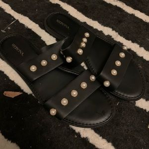 Merona Black Pearl Sandals